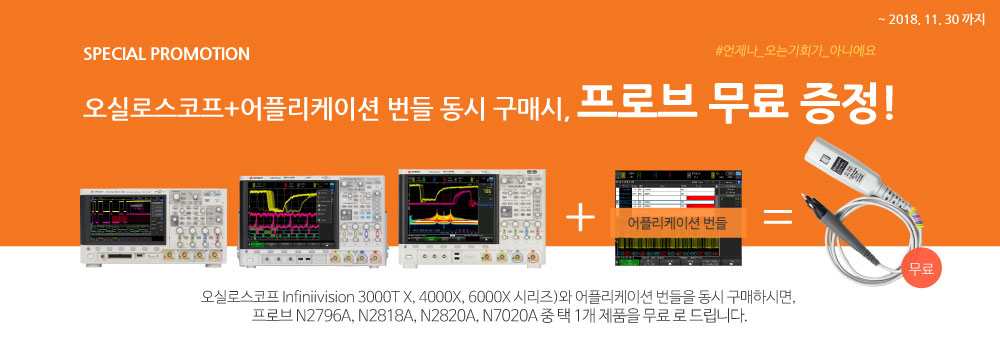 keysight Probe promotion